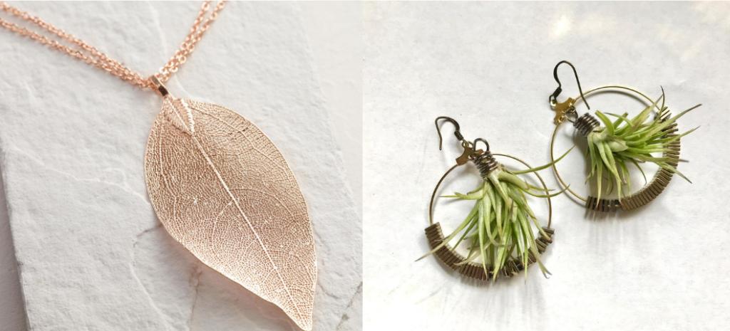 plant jewelry