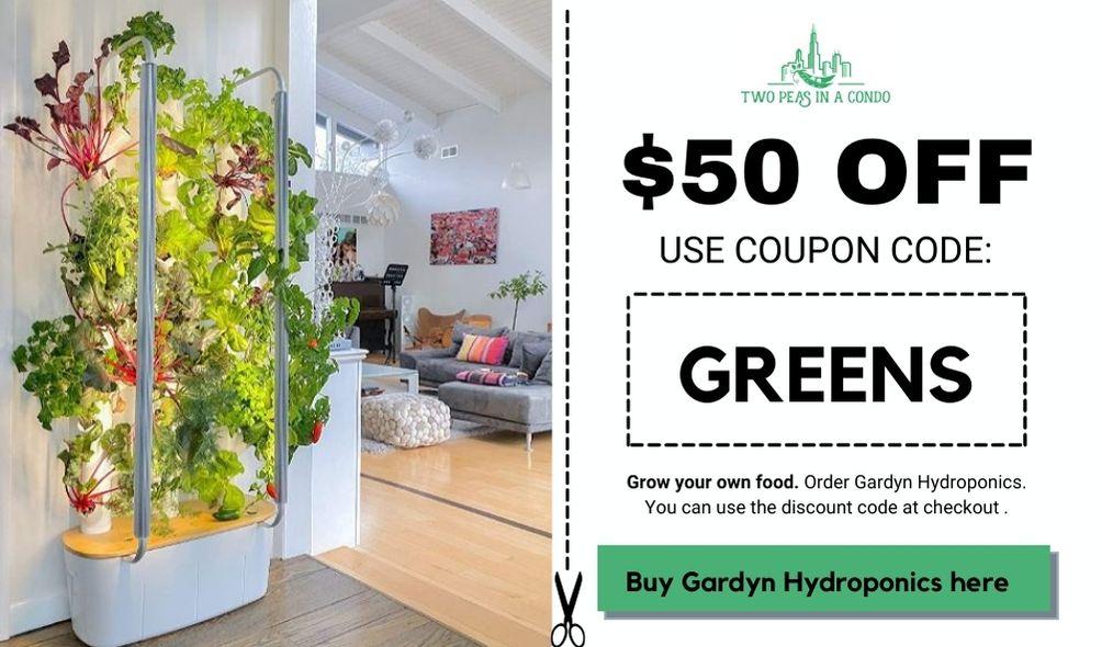 gardyn coupon 50 discount