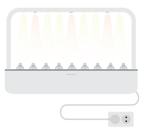 Growing Lights - Click and Grow