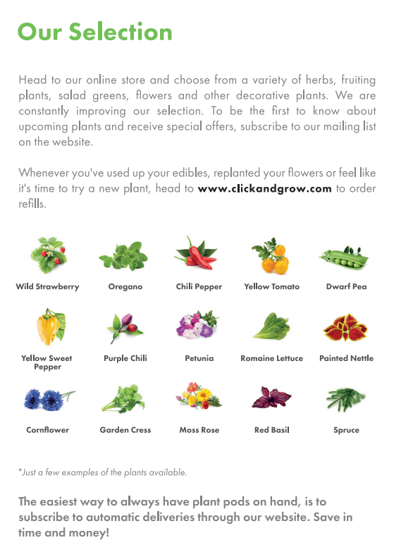 Herbs and Flower Selection Click and Grow (1)