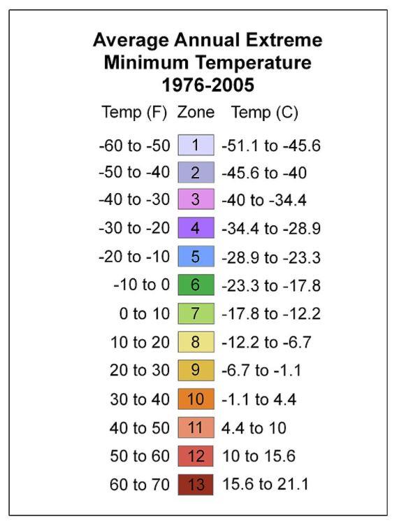 Average Annual Extreme Minimum Temperature - Wikipedia
