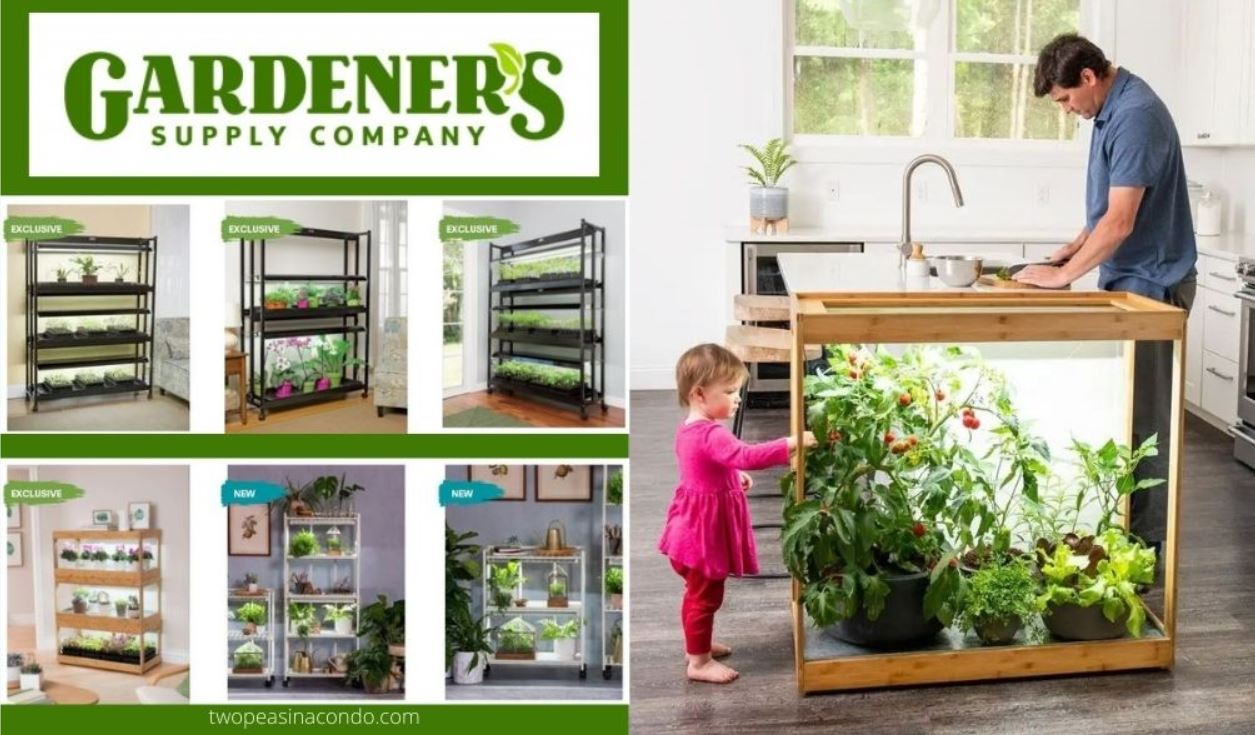 gardener's grow light stand products