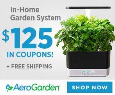 aerogarden 150 coupon